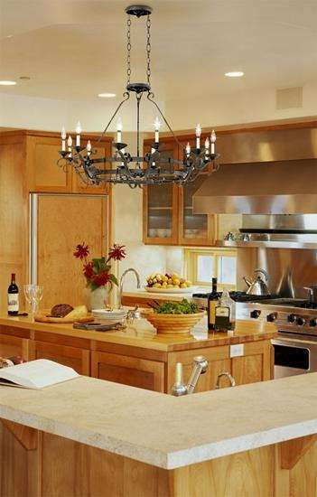Chandelier Lighting For The Kitchen